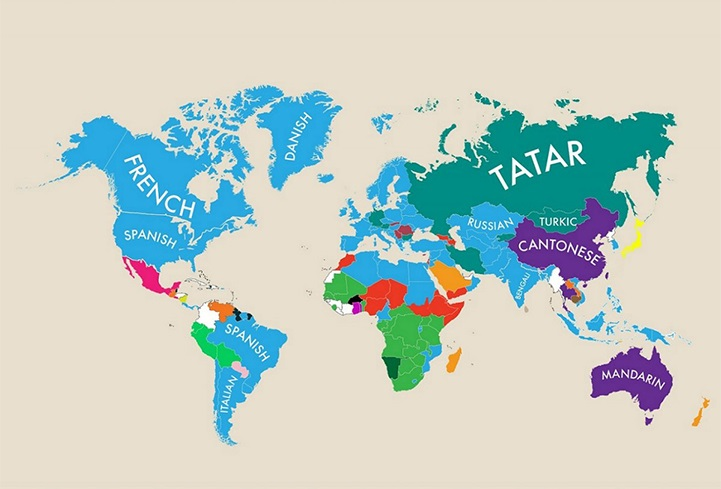 Language worldmap