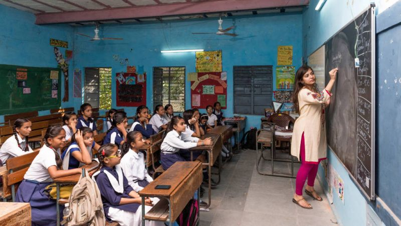 Enhancing the literacy rate in India